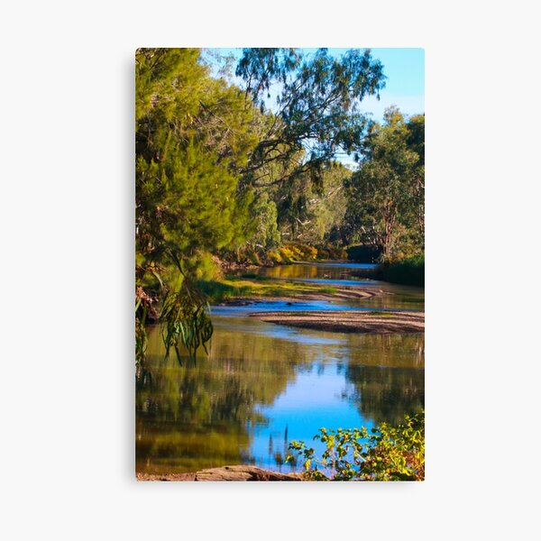 A Watery View Canvas Print