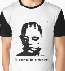 Easy To Be A Monster Graphic T-Shirt
