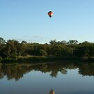 Hot air baloon reflection! by FrankSolomon