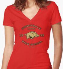 Sunnydale High School Alumni Women's Fitted V-Neck T-Shirt