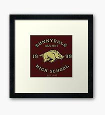 Sunnydale High School Alumni Framed Print