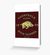 Sunnydale High School Alumni Greeting Card