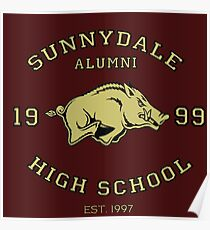 Sunnydale High School Alumni Poster