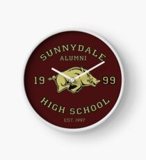 Sunnydale High School Alumni Clock