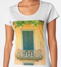 Window & Balcony in Lucca Women's Premium T-Shirt