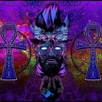 PurplePink Ahnk Lotus Man by AlexanderFox