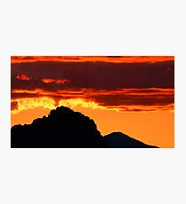 Mexican Fire Photographic Print