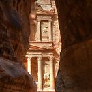 Petra Treasury Revealed by Nigel Fletcher-Jones