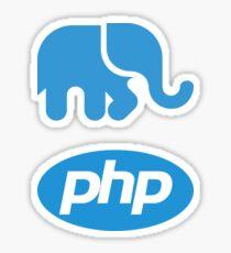 PHP Logo Stickers 2 in 1 Sticker