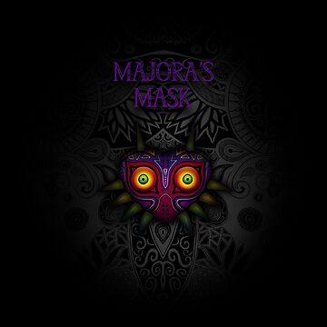 máscara de Majora de artetbe