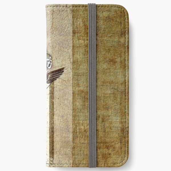 poloplayer golden_ocher iPhone Flip-Case