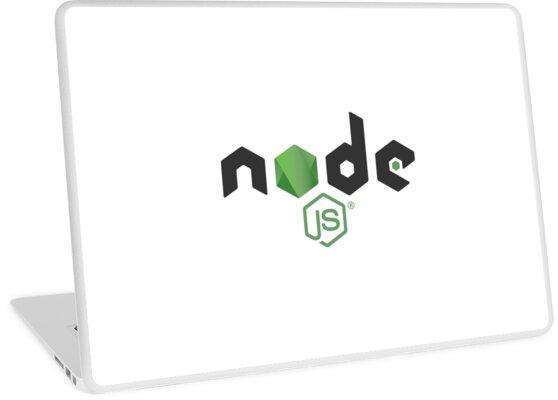 'Node js Logo' Laptop Skin by faressoft