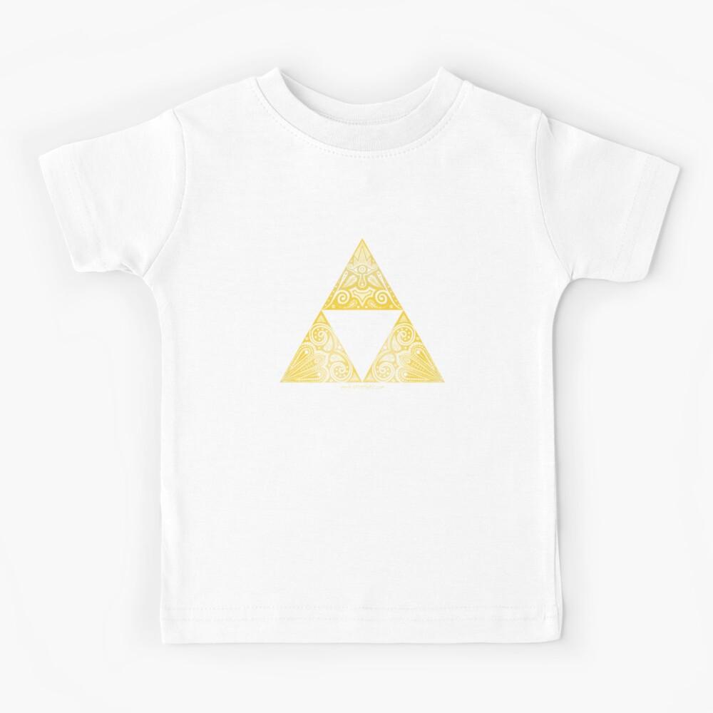 Zelda - Triforce circle Kids T-Shirt