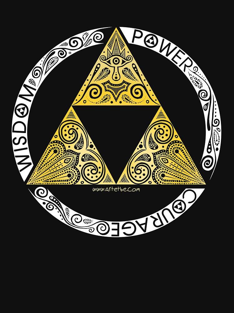 Zelda - Triforce-Kreis von artetbe