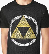 Zelda - Triforce circle Graphic T-Shirt