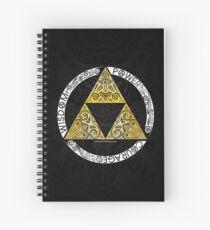 Cuaderno de espiral Zelda - Círculo de la Trifuerza