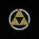 «Zelda - Círculo de la Trifuerza» de artetbe