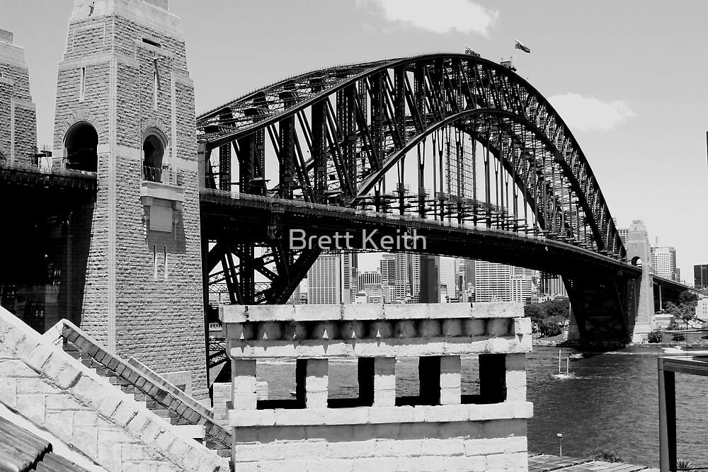 Bridge Australia Day by Brett Keith