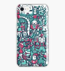 Robo Party iPhone Case/Skin
