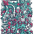 Robo Party by wuhu