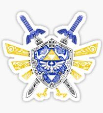 Leyenda de los héroes - Zelda Pegatina