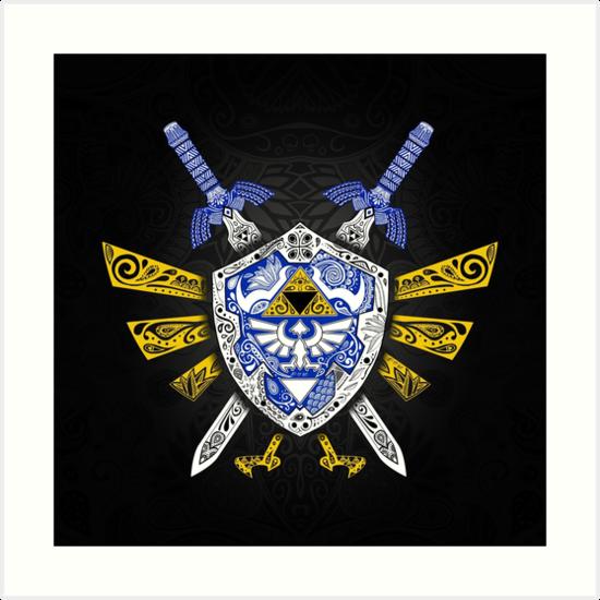 «Leyenda de los héroes - Zelda» de artetbe