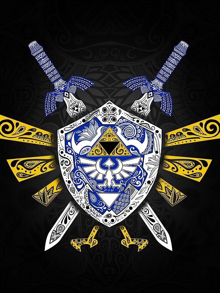 Leyenda de los héroes - Zelda de artetbe