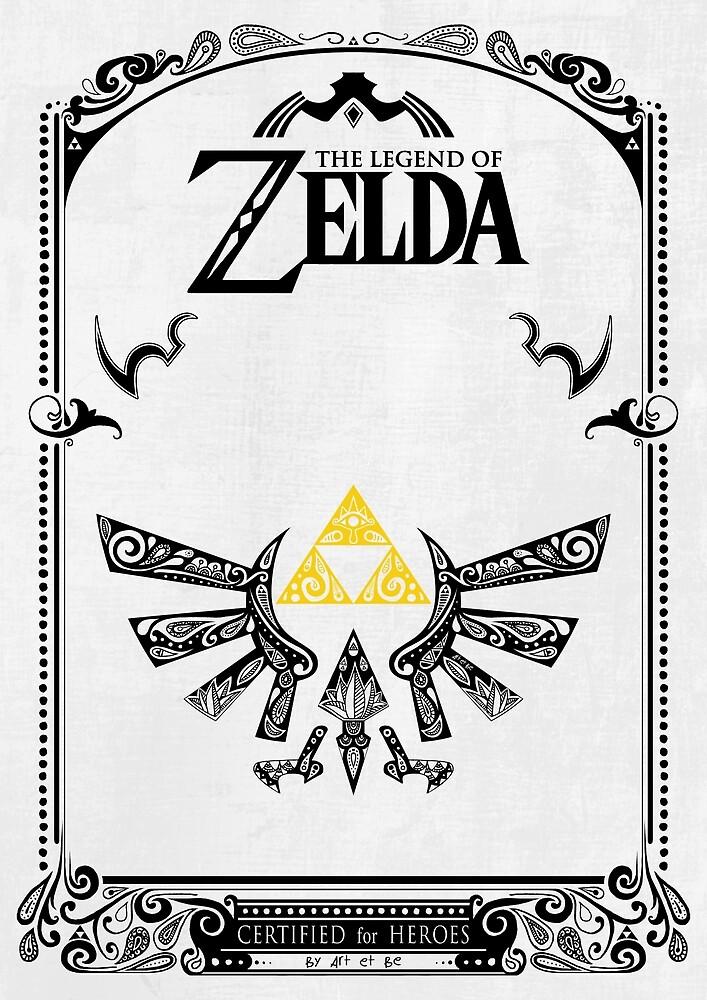 «Zelda leyenda Hyrule» de artetbe