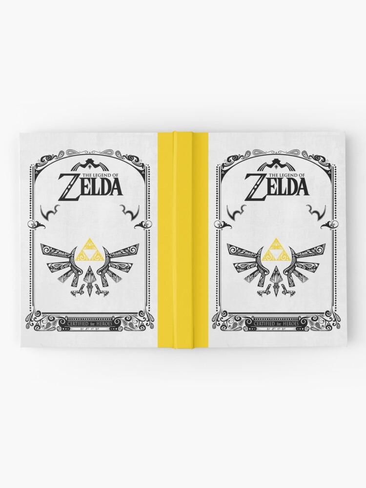 Vista alternativa de Cuaderno de tapa dura Zelda leyenda Hyrule