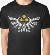Zelda - Hyrule Gekritzel Grafik T-Shirt