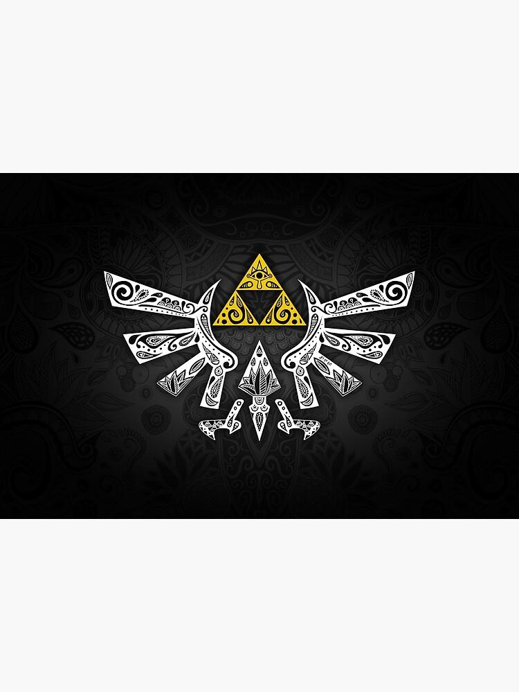 Zelda - Hyrule Gekritzel von artetbe