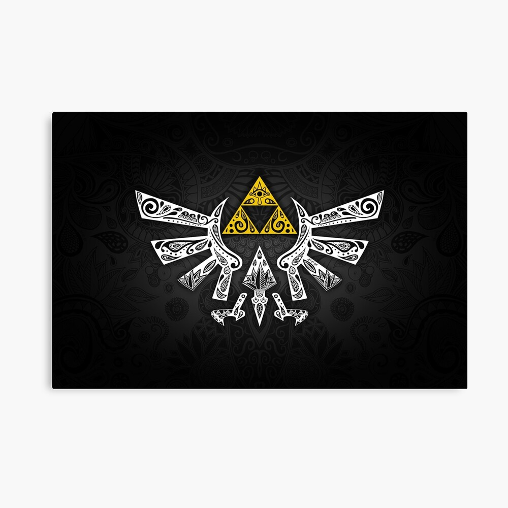 Zelda - Doodle Hyrule Lienzo