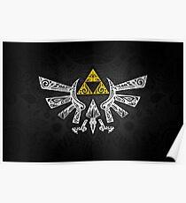 Zelda - Hyrule doodle Poster