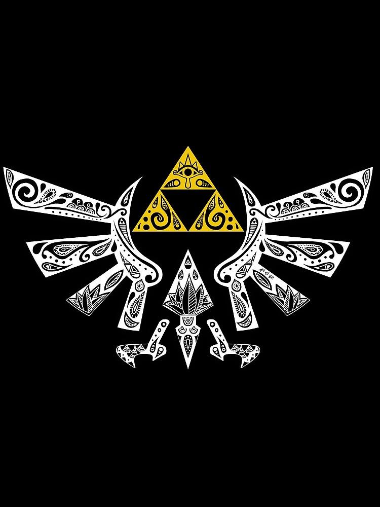 Zelda - Doodle Hyrule de artetbe