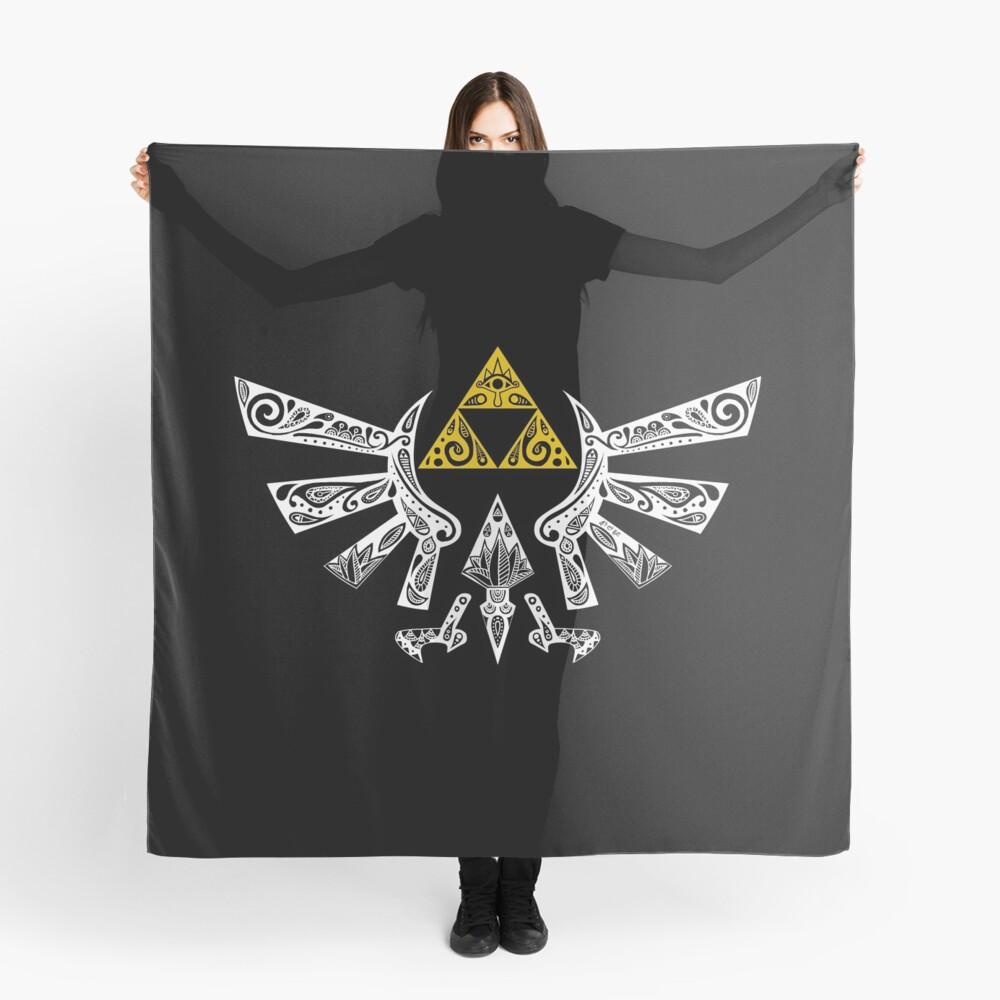 Zelda - Hyrule Gekritzel Tuch
