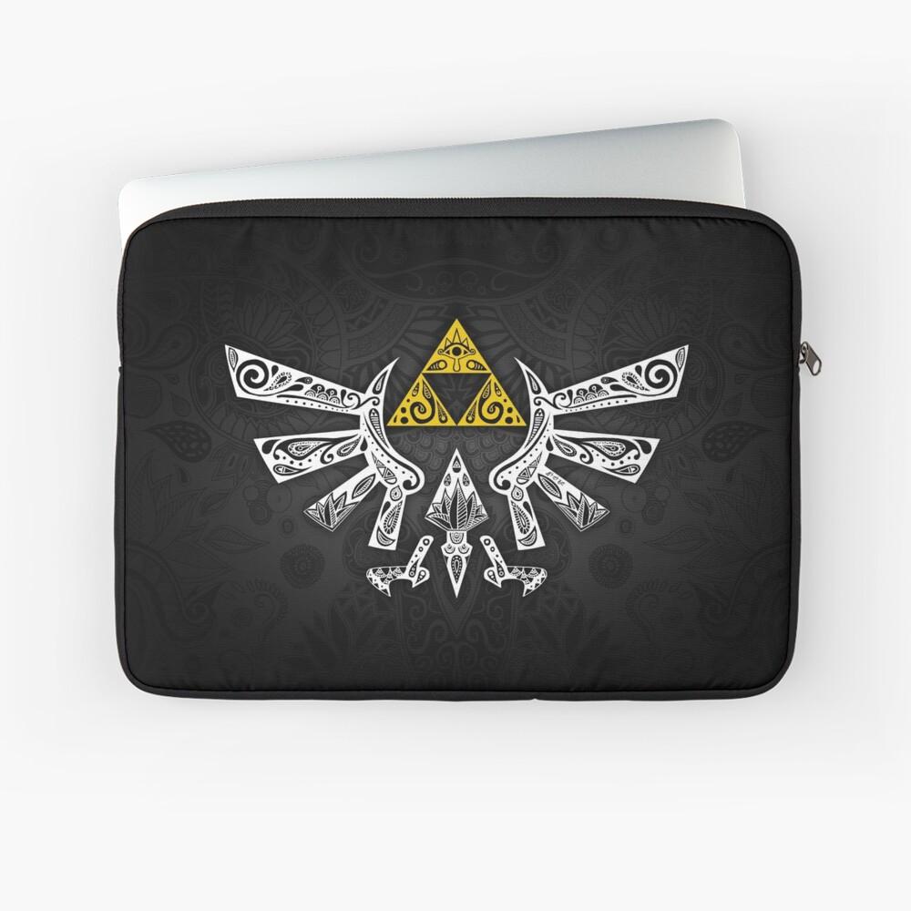 Zelda - Doodle Hyrule Funda para portátil