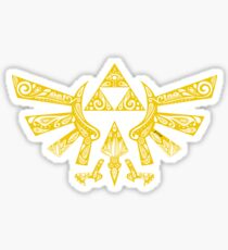 Zelda - Hyrule doodle Sticker