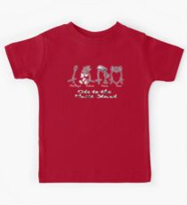 Ode to the Music Stand - Challenge, Endure, Learn, Love Kids Tee