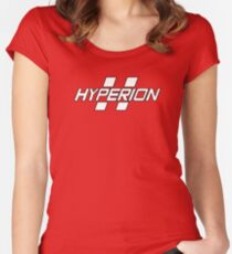 Hyperion Logo Women's Fitted Scoop T-Shirt