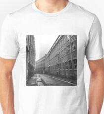 Foggy Leicester Street Unisex T-Shirt