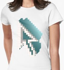 Pixel Women's Fitted T-Shirt