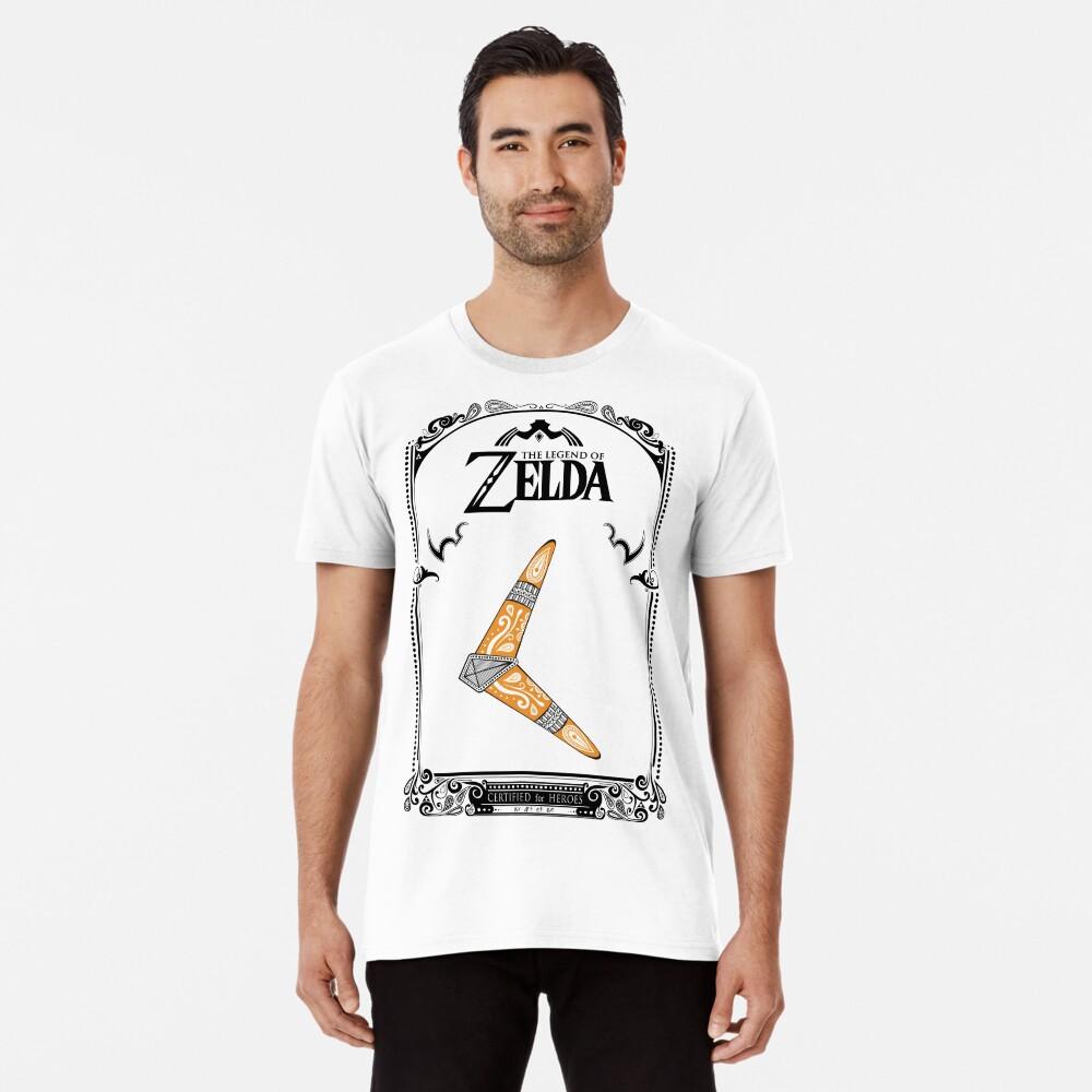 Zelda legend - Boomerang doodle Camiseta premium