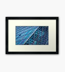 Diagonals in Architecture Framed Print