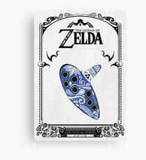 Zelda legend - Ocarina doodle Canvas Print