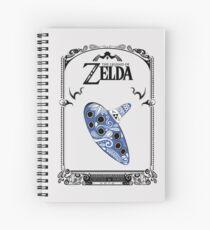 Zelda legend - Ocarina doodle Cuaderno de espiral