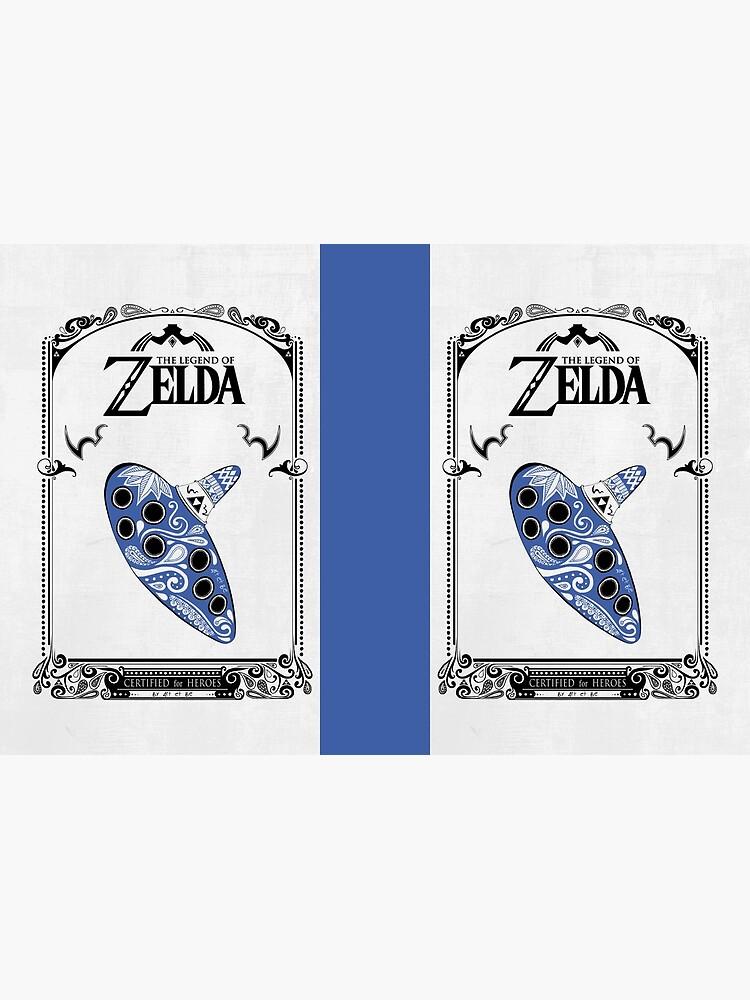 Zelda legend - Ocarina doodle de artetbe