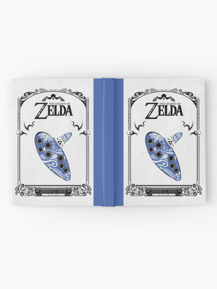Vista alternativa de Cuaderno de tapa dura Zelda legend - Ocarina doodle