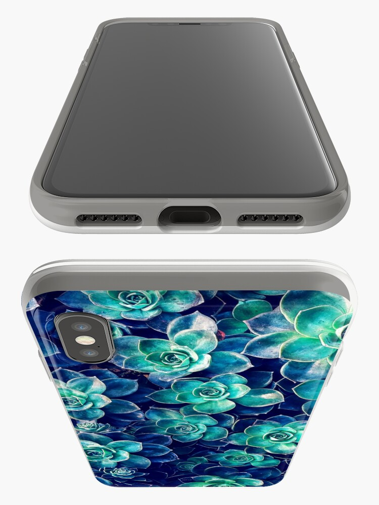 Alternate view of Plants of Blue And Green iPhone Cases & Covers