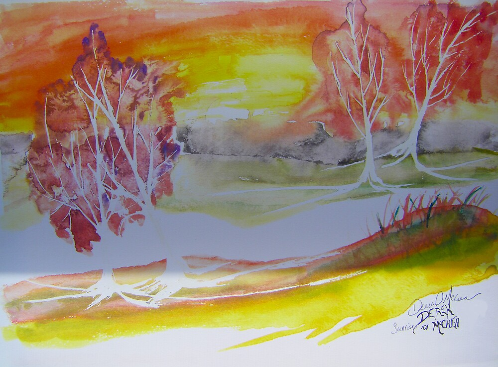 Sunrise by derekmccrea