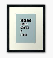 Riverdale Framed Print